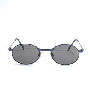 Kenneth Cole KC5057 Blue Oval Sunglasses
